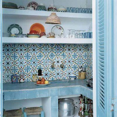 Love this tile!  Decorator Shannon Fricke