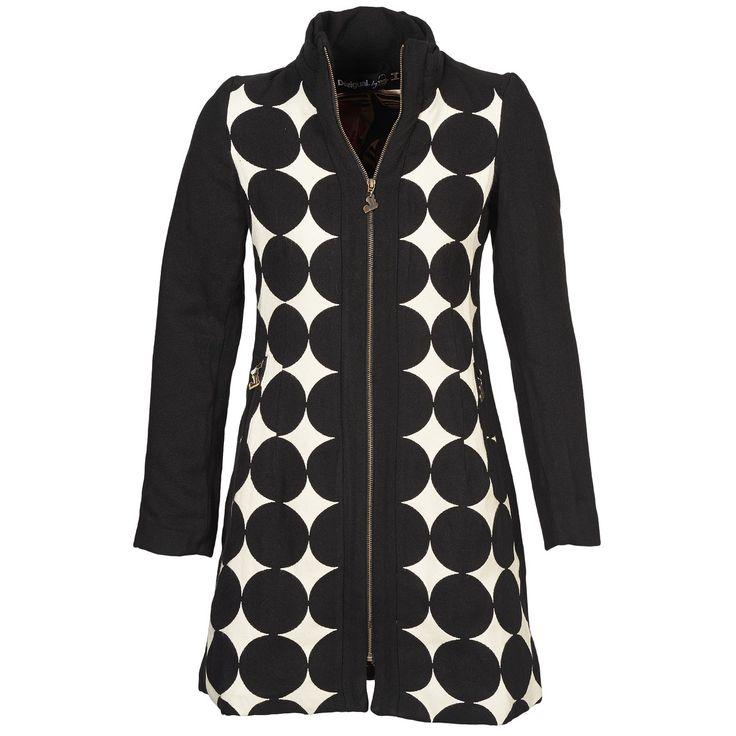 Manteau desigual atrio noir