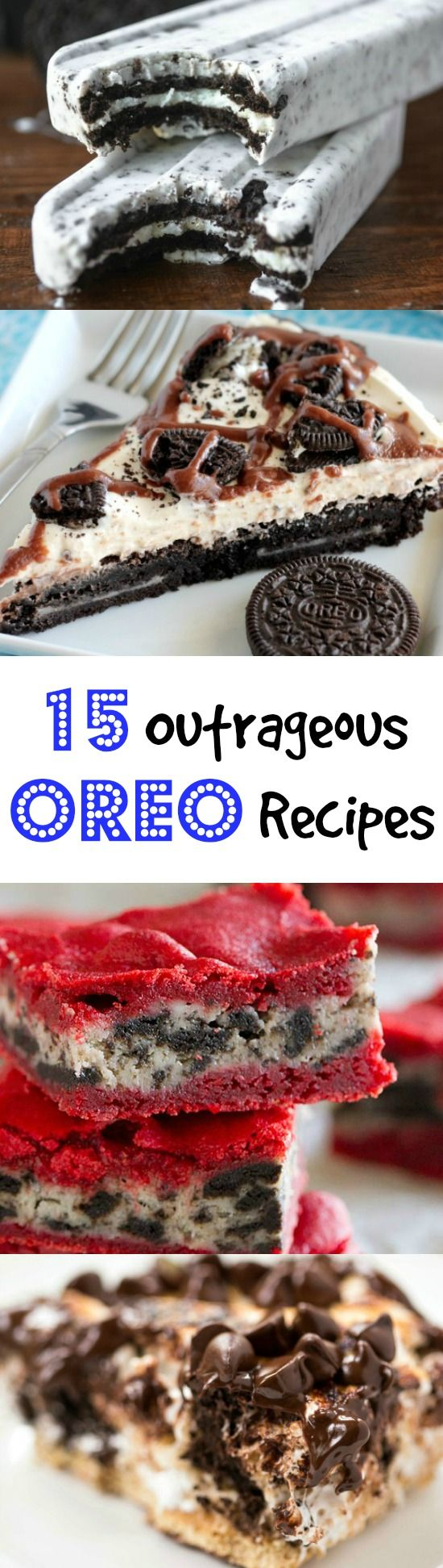 15 OUTRAGEOUS Oreo Recipes you just Have to try!!   Thanksgiving Desserts  Christmas Desserts