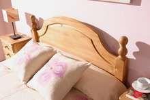Cama Pino Versalles - Cabecero, largeros y piecero, de madera de pino maciza 317