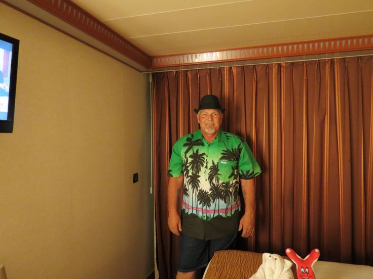 Robert on cruise ship