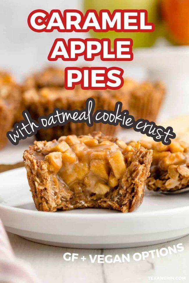 Karamell-Apfelkuchen eignen sich hervorragend als Minidessert für den Herbst! Diese glutenfreien …   – Goodies From Texanerin Baking