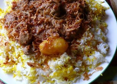 Mutton Biryani - East African Style