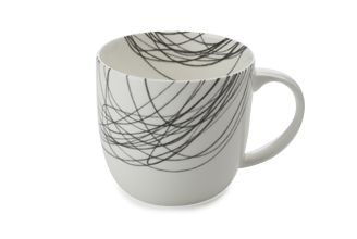 "Maxwell & Williams ""Cashmere Scribbles"" mug in circular wave"