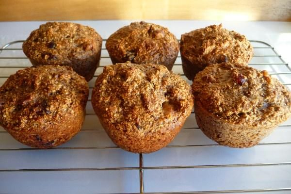healthy fruit muffins no sugar palm fruit