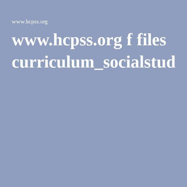 www.hcpss.org f files curriculum_socialstudies_ps.pdf