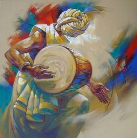 MUSICIAN - Dholi portrait