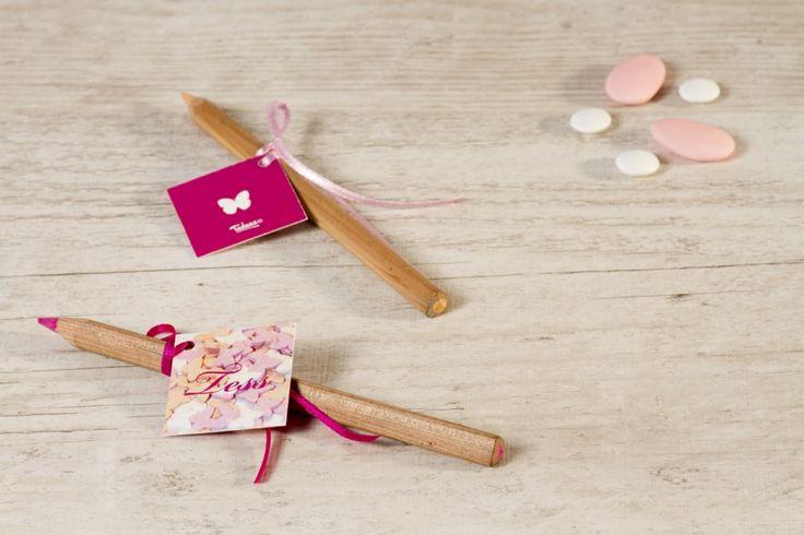 Vierkant label vlindertjes | Tadaaz #vlinder #roze #snoep #wit #oranje #snoep #label