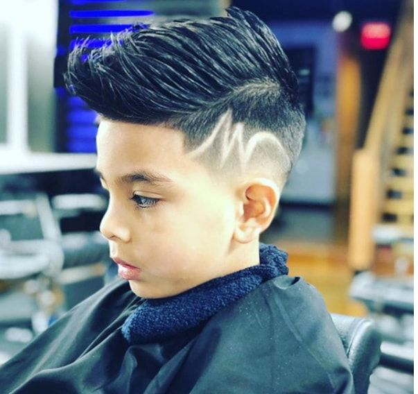 Forward Spike With Faded Sides Boys Haircuts Cool Boys Haircuts Boys Haircuts With Designs