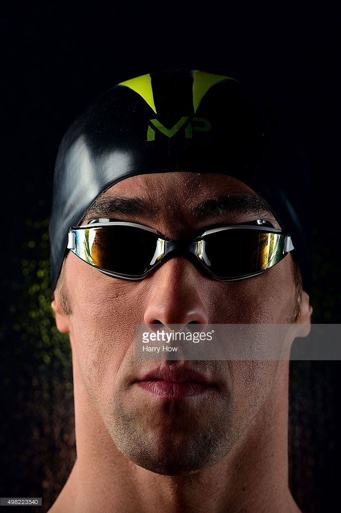 Swimmer Michael Phelps poses for a portrait at the USOC Rio Olympics Shoot at…
