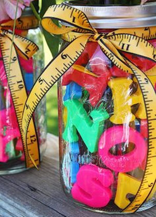 looking for party loot bag ideas  these jars are a little