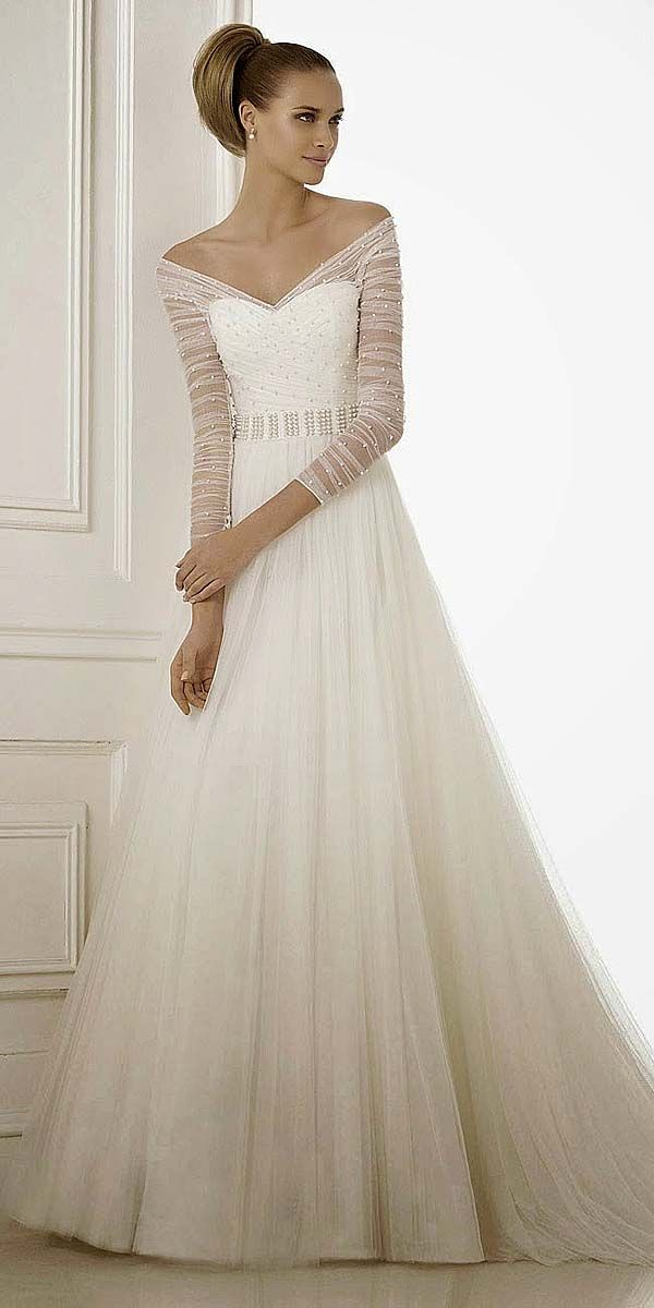 The 25 best sleeve wedding dresses ideas on pinterest lace 36 chic long sleeve wedding dresses junglespirit Images