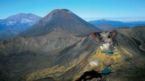 The Tongariro Crossing is considered New Zealand's best one-day walk.