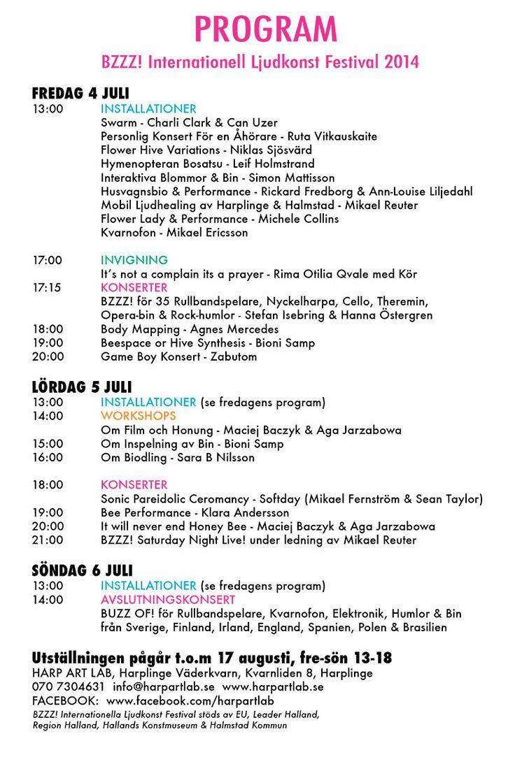 Program for BZZZ !! 2014