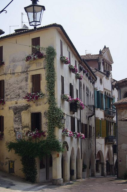 Asolo, Veneto, Italy. My grandfather was born here, definite must see for me.
