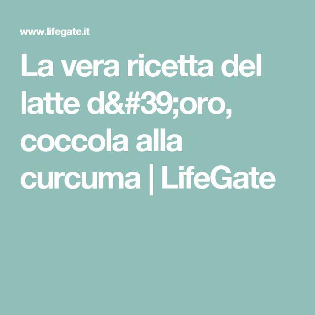 La vera ricetta del latte d'oro, coccola alla curcuma   LifeGate