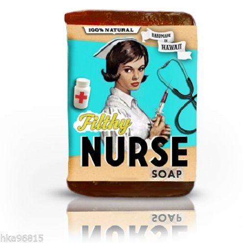 Filthy Nurse All Natural Large Bar Glycerin Soap Tea Tree Lemongrass Turmeric