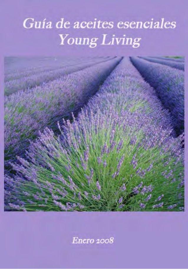Guía de aceites esenciales Young Living Recopilación y traducción realizada por: Mercedes Alonso Busto Enero de 2008