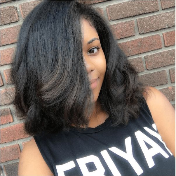 Simply Gorgeous Straight Natural Style IG:@styleoptimist  #naturalhairmag