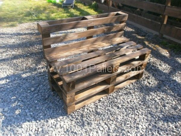 Massive outdoor garden set made with Pallets