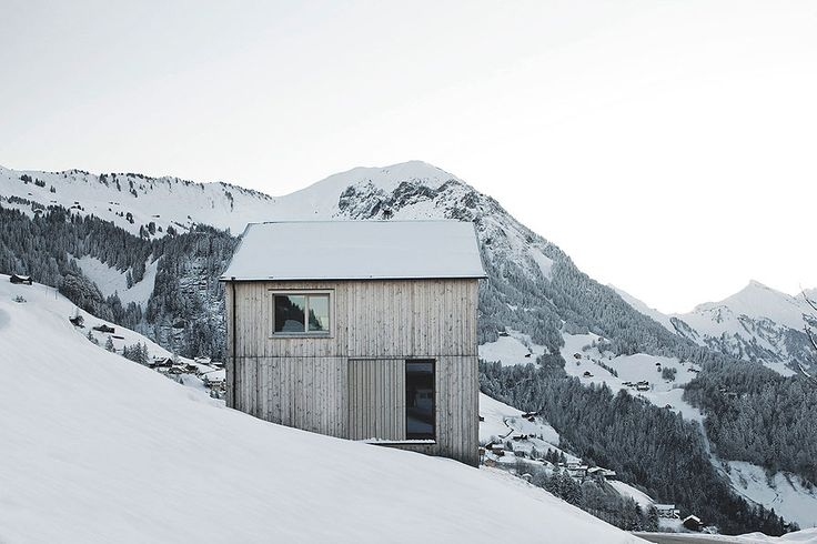 Fontanella House is a minimalist house located in Fontanella, Austria, designed by Bernardo Bader. Not far from the center of the Walser vil...