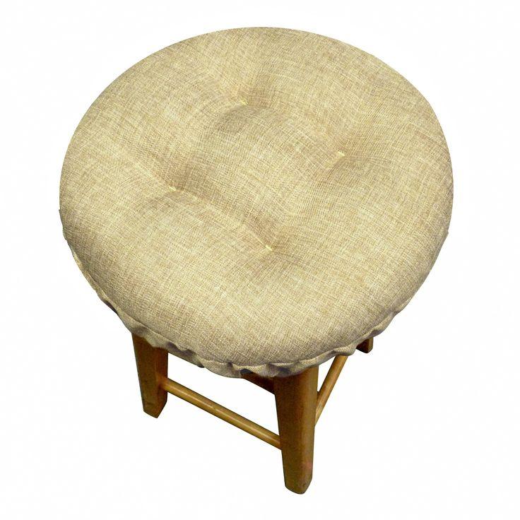 Hayden Beige Bar Stool Covers with Cushion u0026 Adjustable Drawstring  sc 1 st  Pinterest & Best 25+ Bar stool covers ideas on Pinterest | Stool covers Stool ... islam-shia.org