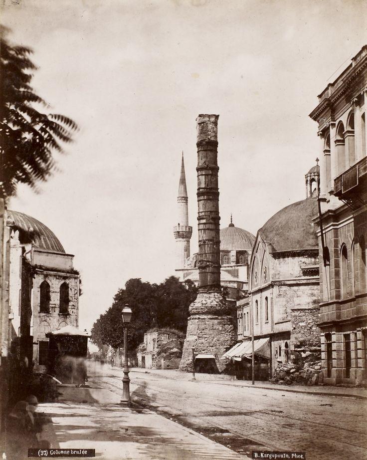 Çemberlitaş Basile Kargopoulo Fotoğrafı 1875