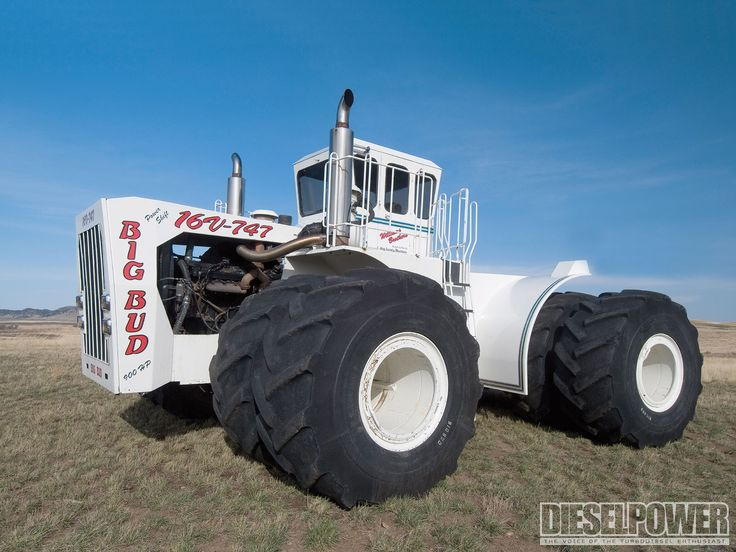 Big Bud- World's Largest Tractor http://titanoutletstore.com/page/2/