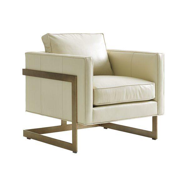 Shadow Play Armchair In 2020 Leather Chair Armchair Lexington Home