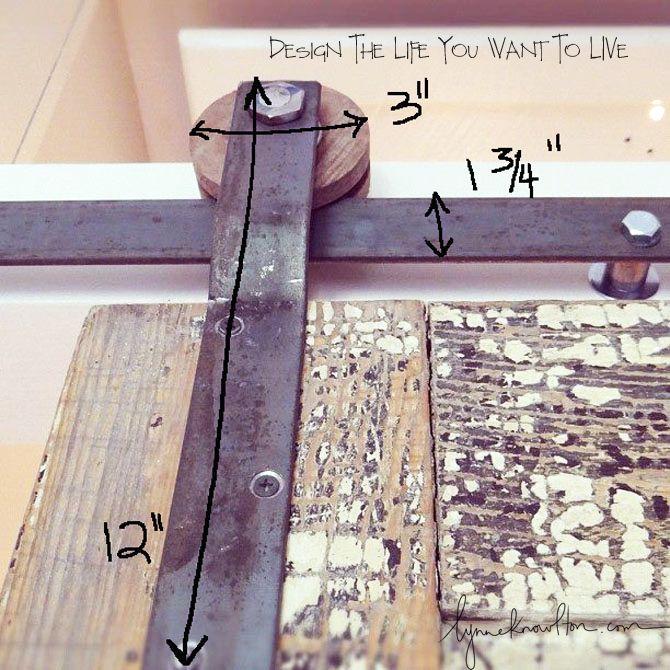 Diy Barn Door Track Best 25+ Sliding Barn Door Track Ideas On Pinterest |  Barn