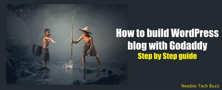 How to build wordpress blog with Godaddy
