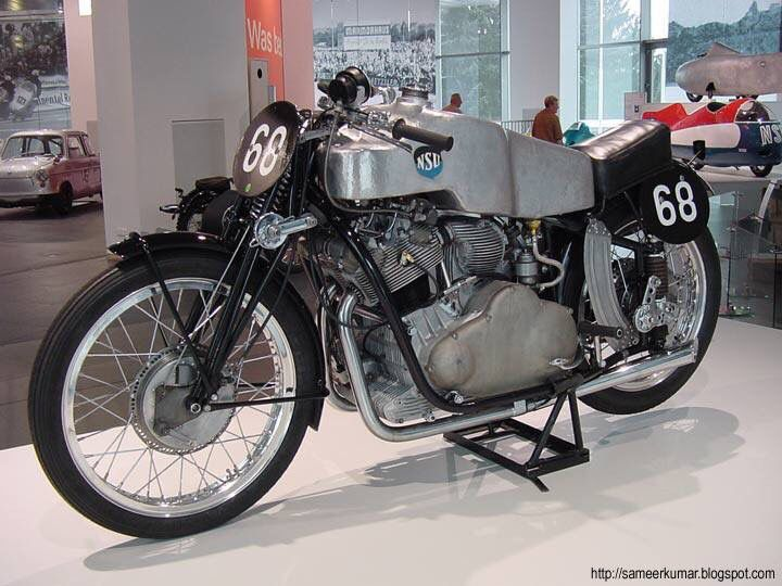 Nsu 500cc Kompressor 1954 Classic Motorcycles Racing Bikes Motorcycle