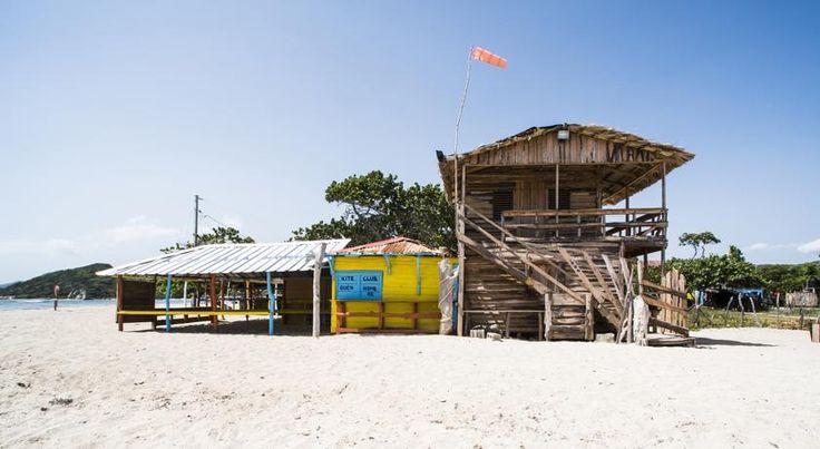 Kiter und Backpacker Tipp: Buen Hombre Kite Camping / Hotel - La Costa de Buen Hombre Bay - Buen Hombre - Norden der Dominikanischen Republik