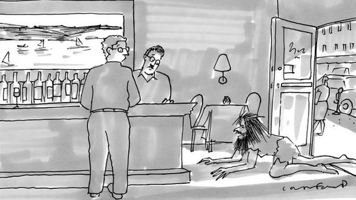"""In one of Seinfeld's last episodes, Elaine and Jerry sit in their favorite diner. Elaine pulls out a copy of The New Yorker, points to a cartoon and says, """"I don't get this."""" """"Me neither,"""" Jerry..."""
