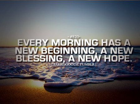 Gagnamite Motivational Quote Every Morning Has A New Beginning