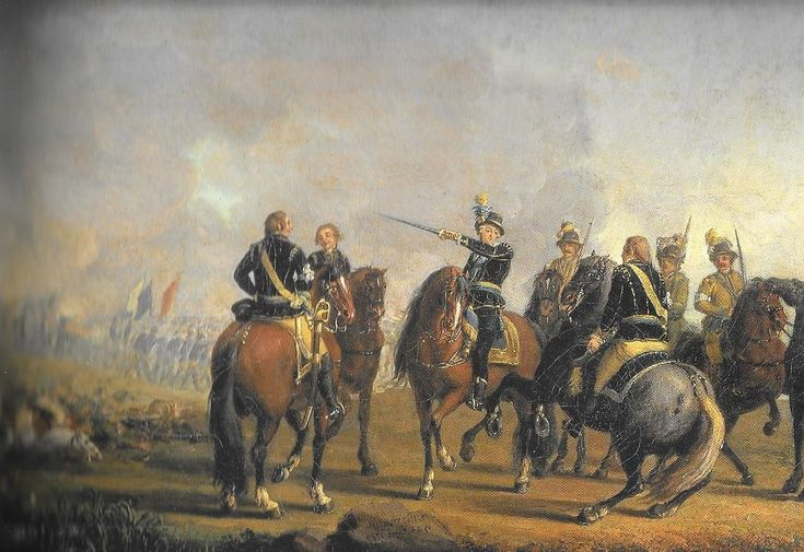 Gustav III of Sweden during the Battle of Uttismalm 1789 by Pehr Hilleström