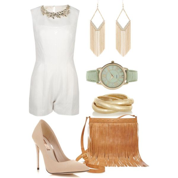 Summer Dinner Party - outfit idea