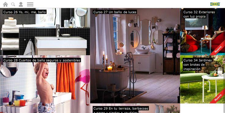 La Escuela de decoración de @IKEAES recoge tutoriales y vídeos, solo algunos con promo de sus productos.