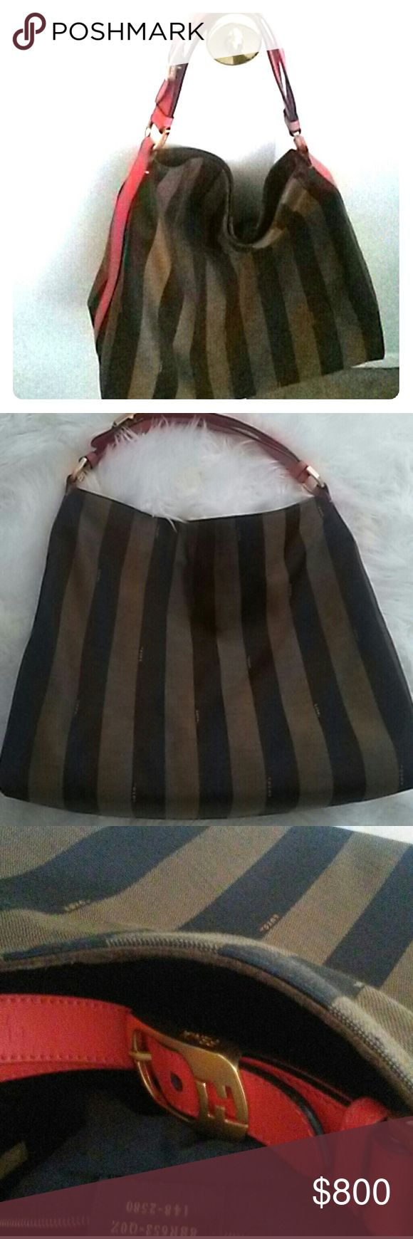 🔥Fendi penguin hobo💜Price firm Superb Fendi hobo. Literally only worn half a day. No signs of wear nowhere. Dust bag not available but will ship packaged great. Matching espadrille in euro size 39/US 9 available in separate listing Fendi Bags Hobos