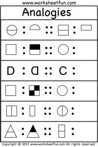 Analogies - 4 Worksheets - Free Printable Worksheets - Worksheetfun