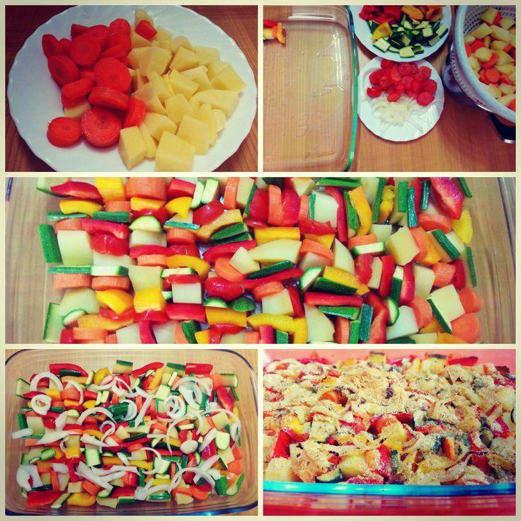 Vegetarian food http://www.lovecooking.it/antipasti-e-contorni/verdure-miste-al-forno/