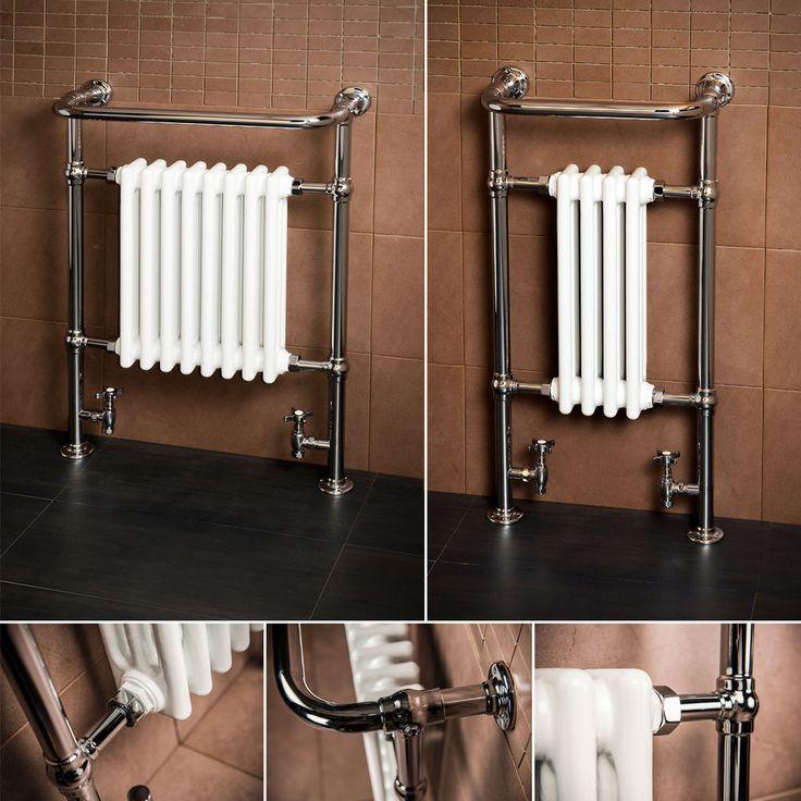 Traditional Heated Towel Rail Column Radiator White: 17 Best Ideas About Bathroom Towel Rails On Pinterest