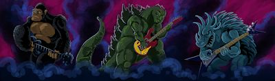 Czajnik's Workshop: Monsters of Rock!