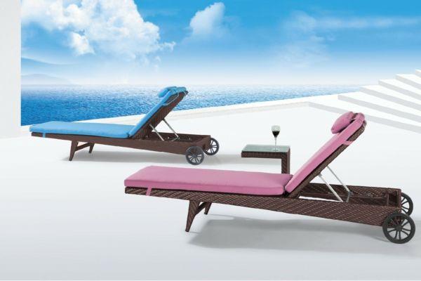 lounge-möbel-outdoor-ultramoderne-liegestühle | Terrassenliege ...