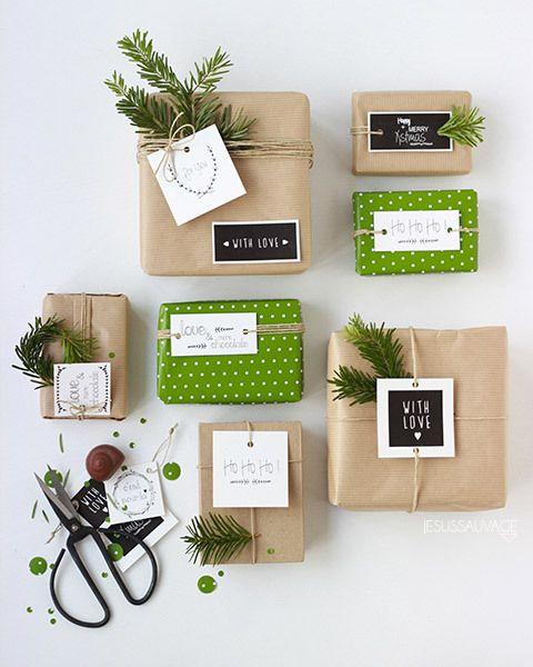 24 ideas para envolver tus regalos estas Navidades                                                                                                                                                                                 Más