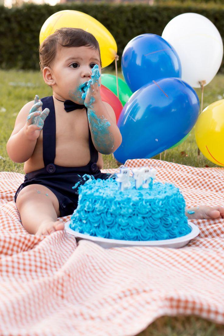Smash the cake  Fotografia de Famílias e Eventos Sociais!