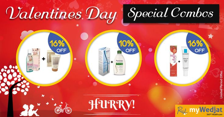 #ValentinesDay Special Combo Offer | myWedjat HealthCare Online Shopping For Health Care Products