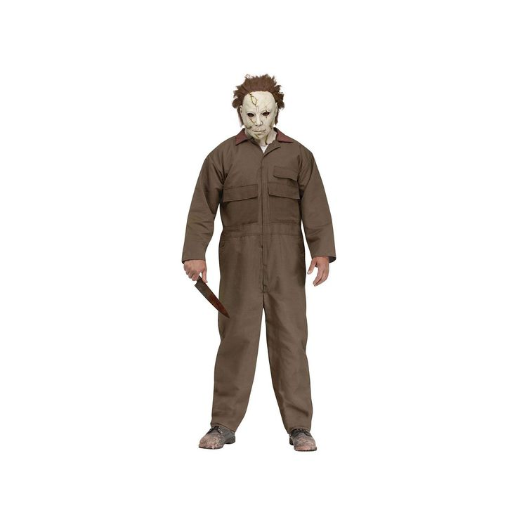 Michael Myers Costume - Adult, Multicolor