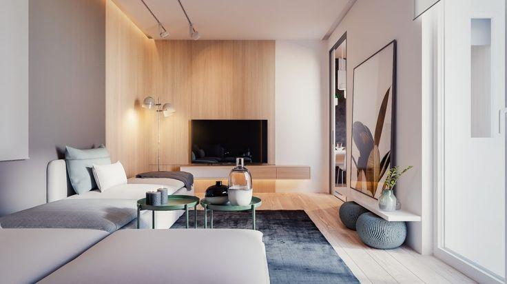 Apartment in Kraków by Yevhen Zahorodnii