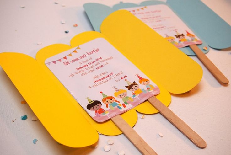 IJsjes Trakteren of een heel ijsjesfeest | Papiergoed